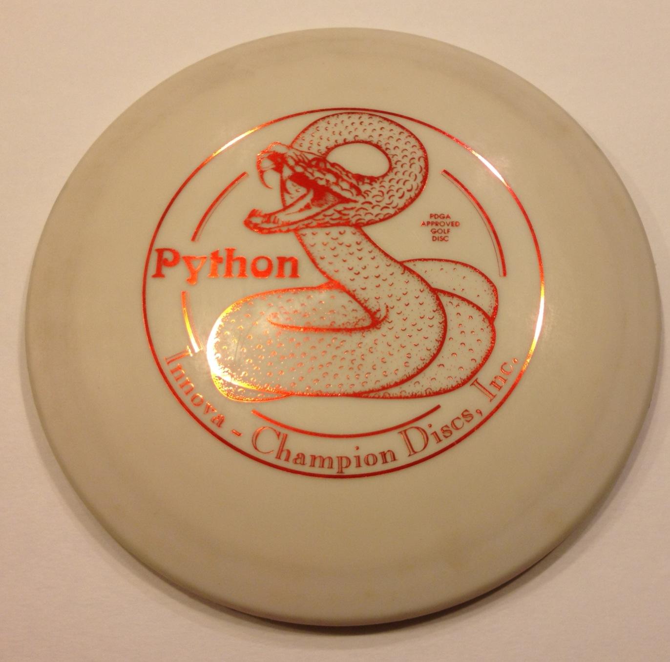 Python White